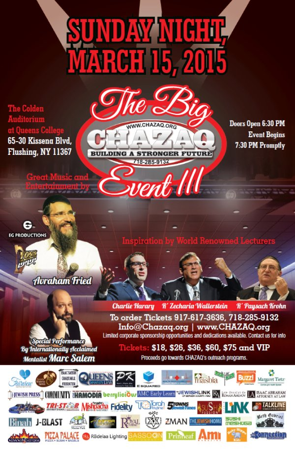 Big CHAZAQ Event III resized